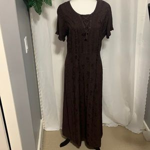 - NWT Vintage 90's Traditions Maxi Sundress Y2K